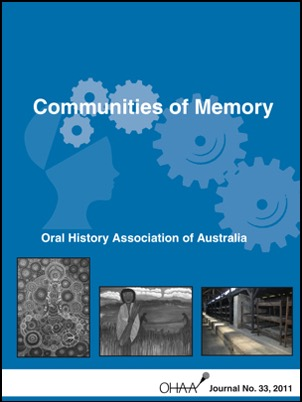 Cover of 2011 journal