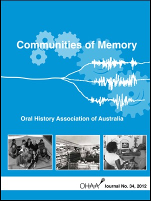 Cover of 2012 journal
